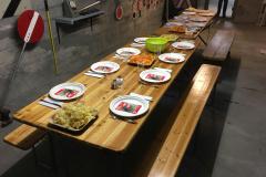 La table est dressée pour le club de Balsthal