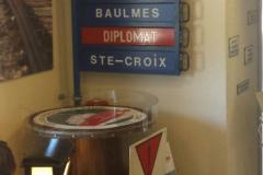 Stand du RCYB durant 2018 à la gare de Ste-Croix pour le 125ème anniversaire de l'Yverdon - Ste-Croix.