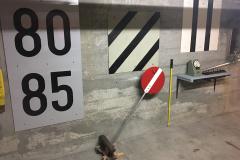 Signal avancé de réduction de vitesse (cat. A/D et R), signal d'exécution et signal final