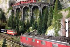 3 trains viaduc H0m 20.03.14