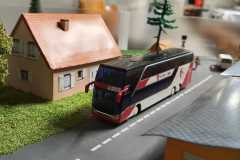 Le Bus Travys sur le module des enfants