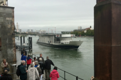 Basel Schifflände - notre bateau