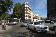 Au fond à droite on aperçoit le BV de Paris-Gare de l'Est