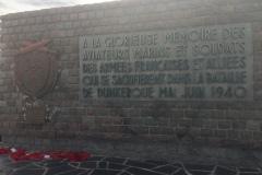 Monument de circonstance à Dunkerque
