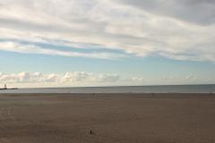 Le long de la plage à Dunkerque