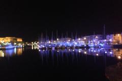 Une partie du port de plaisance