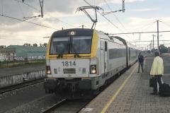 Une série 18 va assurer le train de Knokke à Bruxelles-Midi
