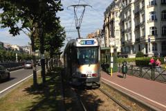 Tram PCC en ville de Bruxelles