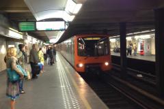 Le métro bruxellois