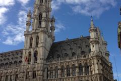Sur la Grand Place de Bruxelles