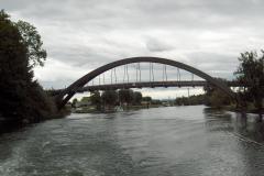 Le Pont Rotary près de Sugiez.